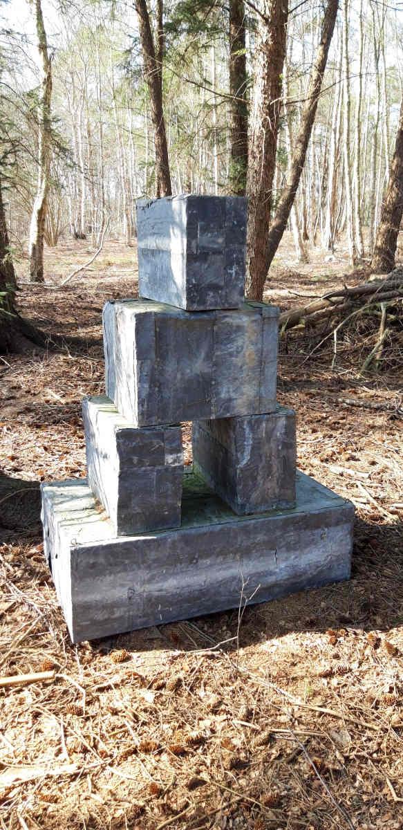 Stapel, Skulpturenmoor